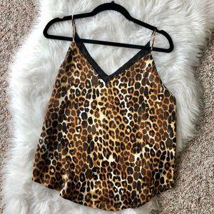 🔥NWT EXPRESS Leopard Print Cami